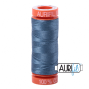 Aurifil 50 Cotton Thread - 1126 (Blue Grey)